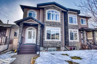 Main Photo: 4421 19 Avenue NW in Calgary: Montgomery Semi Detached for sale : MLS®# A1077418