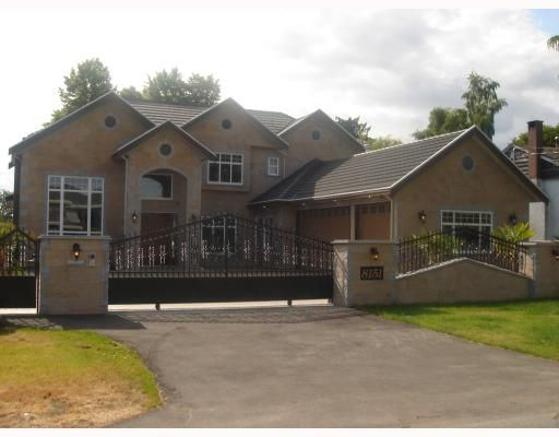 Main Photo: 8151 CLAYBROOK Road in Richmond: Boyd Park House for sale : MLS®# V774082
