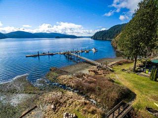 "Main Photo: 13 BRIGHTON Beach in North Vancouver: Indian Arm House for sale in ""Brighton Beach"" : MLS®# R2543871"