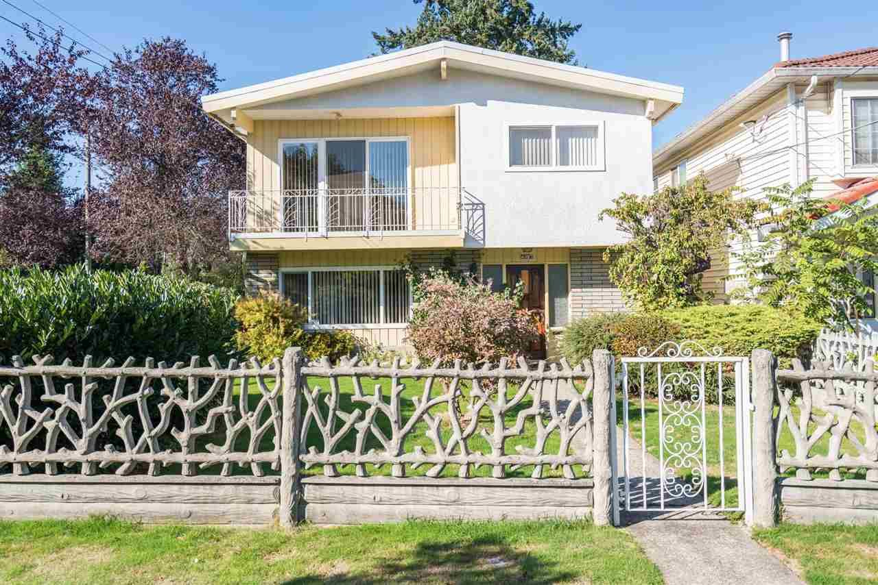 Main Photo: 4397 ELGIN STREET in Vancouver: Fraser VE House for sale (Vancouver East)  : MLS®# R2214005