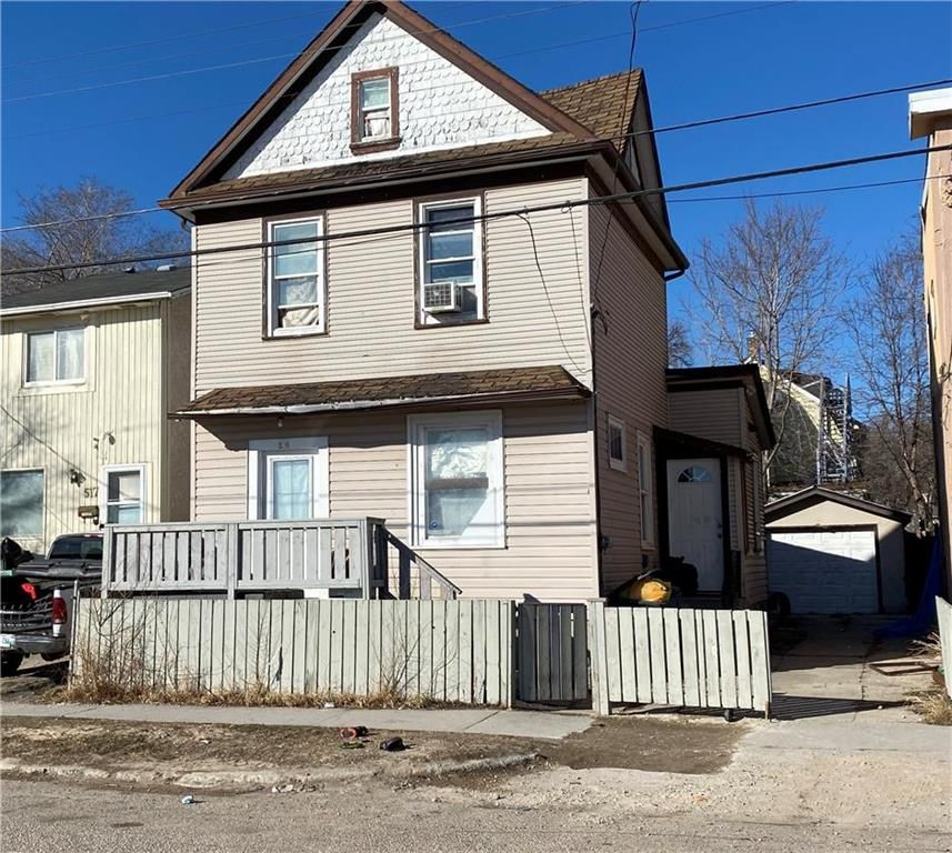 Main Photo: 515 Magnus Avenue in Winnipeg: North End Residential for sale (4A)  : MLS®# 202107356