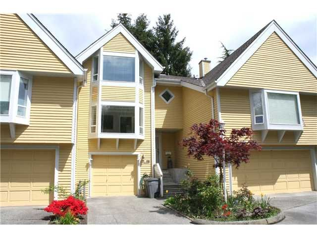 """Main Photo: 3354 FLAGSTAFF Place in Vancouver: Champlain Heights Townhouse for sale in """"COMPASS POINT"""" (Vancouver East)  : MLS®# V888514"""