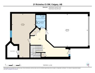 Photo 26: 21 RICHELIEU Court SW in Calgary: Lincoln Park Row/Townhouse for sale : MLS®# A1013241