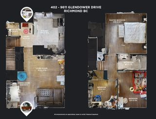 Photo 23: 402 9611 GLENDOWER Drive in Richmond: Saunders Townhouse for sale : MLS®# R2595081