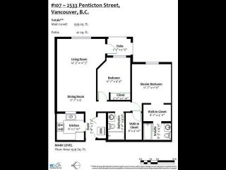 Photo 21: 107 2533 PENTICTON Street in Vancouver: Renfrew Heights Condo for sale (Vancouver East)  : MLS®# R2617365