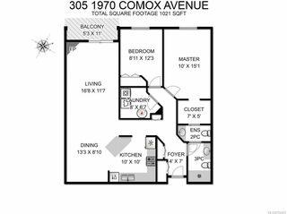 Photo 9: 305 1970 Comox Ave in COMOX: CV Comox (Town of) Condo for sale (Comox Valley)  : MLS®# 752452