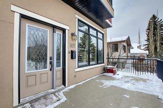 Photo 2: 309 26 Avenue NE in Calgary: Tuxedo Park Semi Detached for sale : MLS®# A1070057