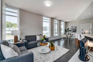 """Photo 2: 606 3188 RIVERWALK Avenue in Vancouver: South Marine Condo for sale in """"Currents at Waters Edge"""" (Vancouver East)  : MLS®# R2614998"""