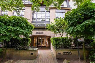"Photo 1: 301 2226 W 12TH Avenue in Vancouver: Kitsilano Condo for sale in ""DESEO"" (Vancouver West)  : MLS®# R2585632"