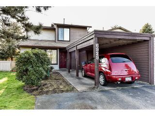 "Photo 1: 6929 135TH Street in Surrey: West Newton 1/2 Duplex for sale in ""Bentley"" : MLS®# F1432767"