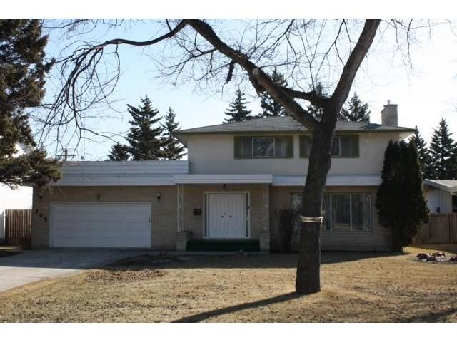 Main Photo: 305 Bower Boulevard in WINNIPEG: River Heights / Tuxedo / Linden Woods Residential for sale (South Winnipeg)  : MLS®# 1004526