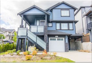Photo 1: 3391 DERBYSHIRE AVENUE in Coquitlam: Burke Mountain 1/2 Duplex for sale : MLS®# R2493317