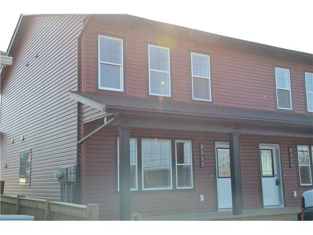 Main Photo: 8313 88TH Street in Fort St. John: Fort St. John - City SE 1/2 Duplex for sale (Fort St. John (Zone 60))  : MLS®# N239264