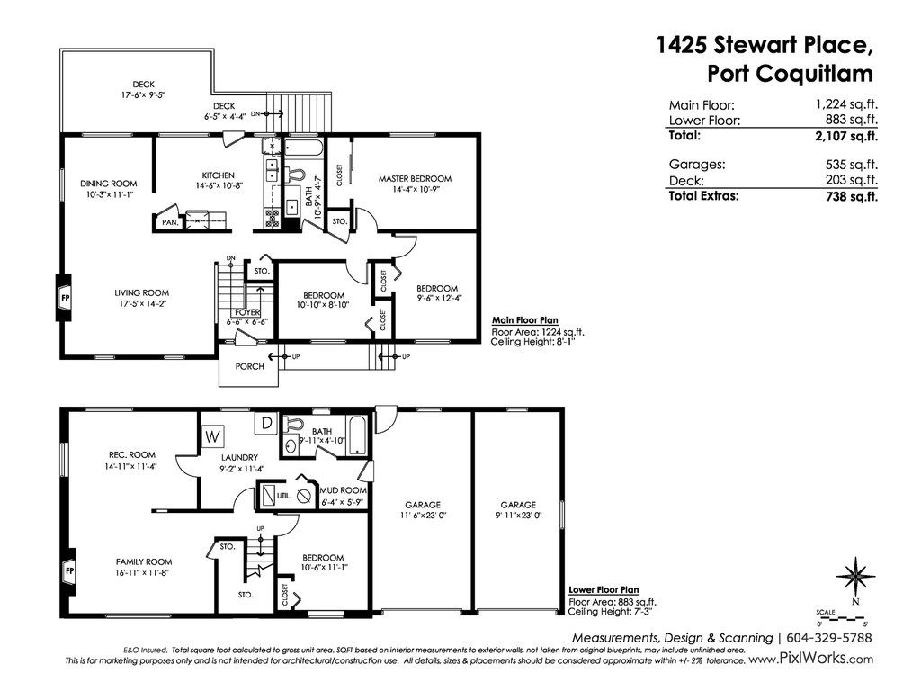 Photo 20: Photos: 1425 STEWART Place in Port Coquitlam: Lower Mary Hill House for sale : MLS®# R2448698