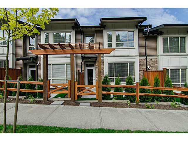 "Main Photo: 10 23986 104TH Avenue in Maple Ridge: Albion Townhouse for sale in ""SPENCER BROOK"" : MLS®# V1006455"