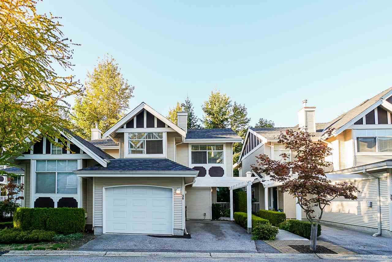 """Main Photo: 40 7488 MULBERRY Place in Burnaby: The Crest Townhouse for sale in """"SIERRA RIDGE"""" (Burnaby East)  : MLS®# R2504190"""