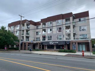 """Photo 1: 302 5499 203 Street in Langley: Langley City Condo for sale in """"Pioneer Place"""" : MLS®# R2609450"""