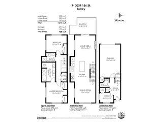 "Photo 40: 9 3039 156 STREET Street in Surrey: Grandview Surrey Townhouse for sale in ""NICHE"" (South Surrey White Rock)  : MLS®# R2531292"