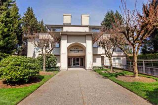 "Photo 1: 105 33675 MARSHALL Road in Abbotsford: Central Abbotsford Condo for sale in ""THE HUNTINGDON"" : MLS®# R2561341"