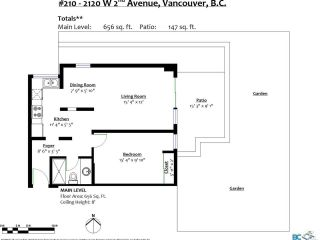 """Photo 4: 210 2120 W 2ND Avenue in Vancouver: Kitsilano Condo for sale in """"ARBUTUS PLACE"""" (Vancouver West)  : MLS®# R2625564"""