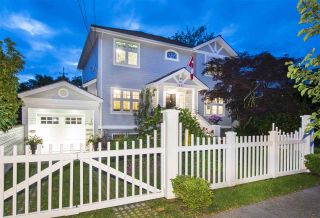 Photo 1: 5611 TRAFALGAR STREET in Vancouver: Kerrisdale House for sale (Vancouver West)  : MLS®# R2284217