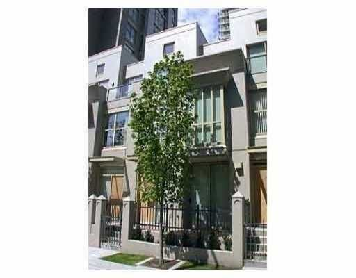 """Main Photo: 983 RICHARDS ST in Vancouver: Downtown VW Townhouse for sale in """"MONDRIAN"""" (Vancouver West)  : MLS®# V545938"""