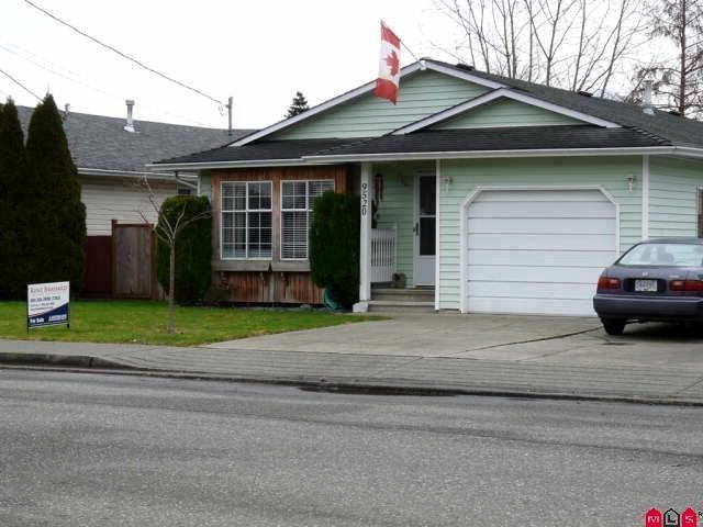 Main Photo: 9520 CARROLL Street in Chilliwack: Chilliwack N Yale-Well House for sale : MLS®# H1102274