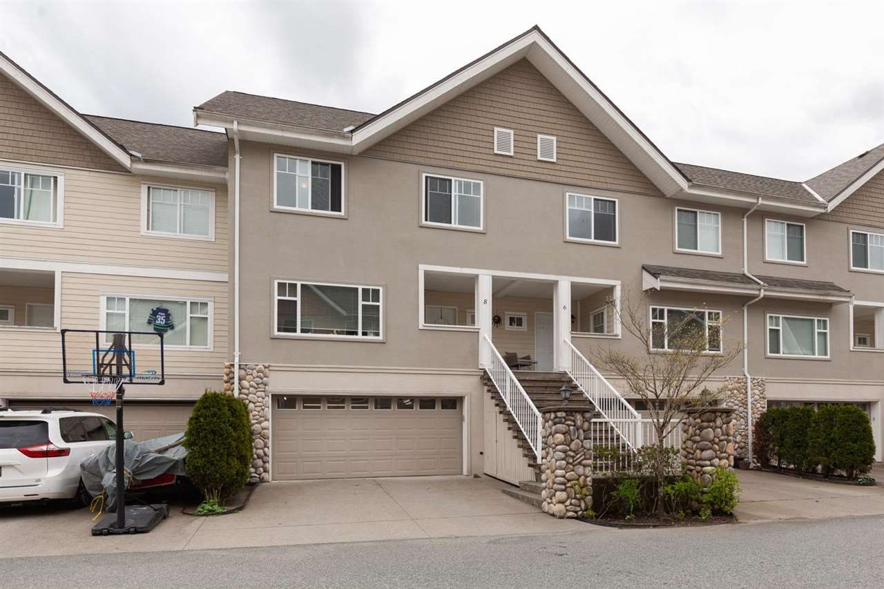 """Main Photo: 8 1200 EDGEWATER Drive in Squamish: Northyards Townhouse for sale in """"EDGEWATER"""" : MLS®# R2572620"""