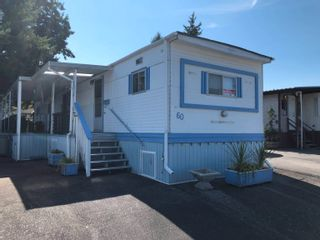 Photo 1: 60 8266 KING GEORGE Boulevard in Surrey: Bear Creek Green Timbers Manufactured Home for sale : MLS®# R2615416