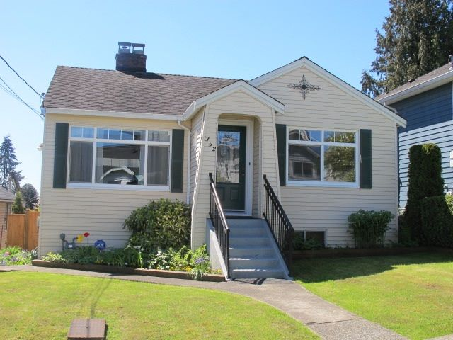 Main Photo: 352 SIMPSON Street in New Westminster: Sapperton House for sale : MLS®# R2165332