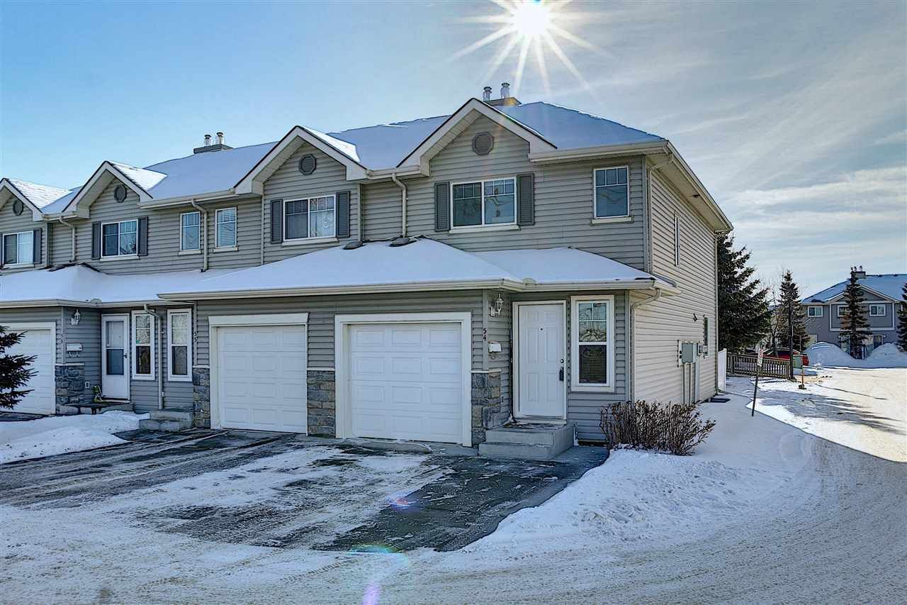 Main Photo: 54 230 EDWARDS Drive SW in Edmonton: Zone 53 Townhouse for sale : MLS®# E4228909