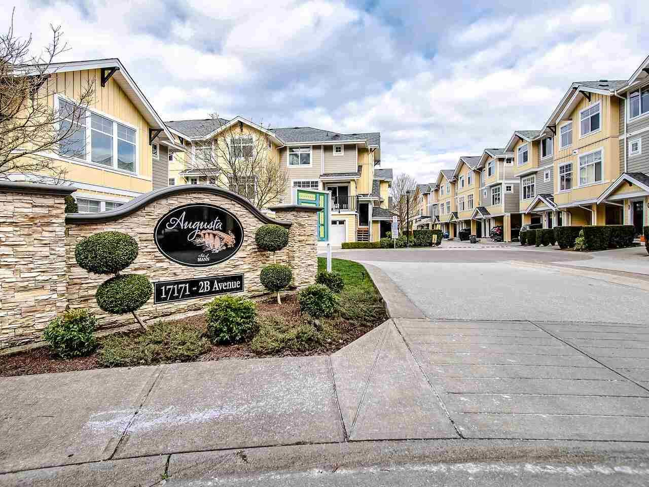 """Main Photo: 17 17171 2B Avenue in Surrey: Pacific Douglas Townhouse for sale in """"Augusta"""" (South Surrey White Rock)  : MLS®# R2539567"""
