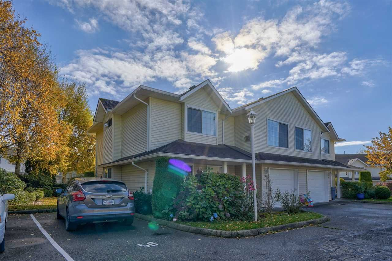 """Main Photo: 56 31255 UPPER MACLURE Road in Abbotsford: Abbotsford West Townhouse for sale in """"COUNTRY LANE ESTATES"""" : MLS®# R2512613"""