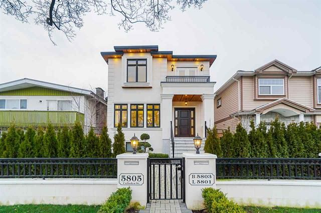 Main Photo: 5805 Culloden Street in Vancouver: Knight House for sale (Vancouver East)  : MLS®# R2445420