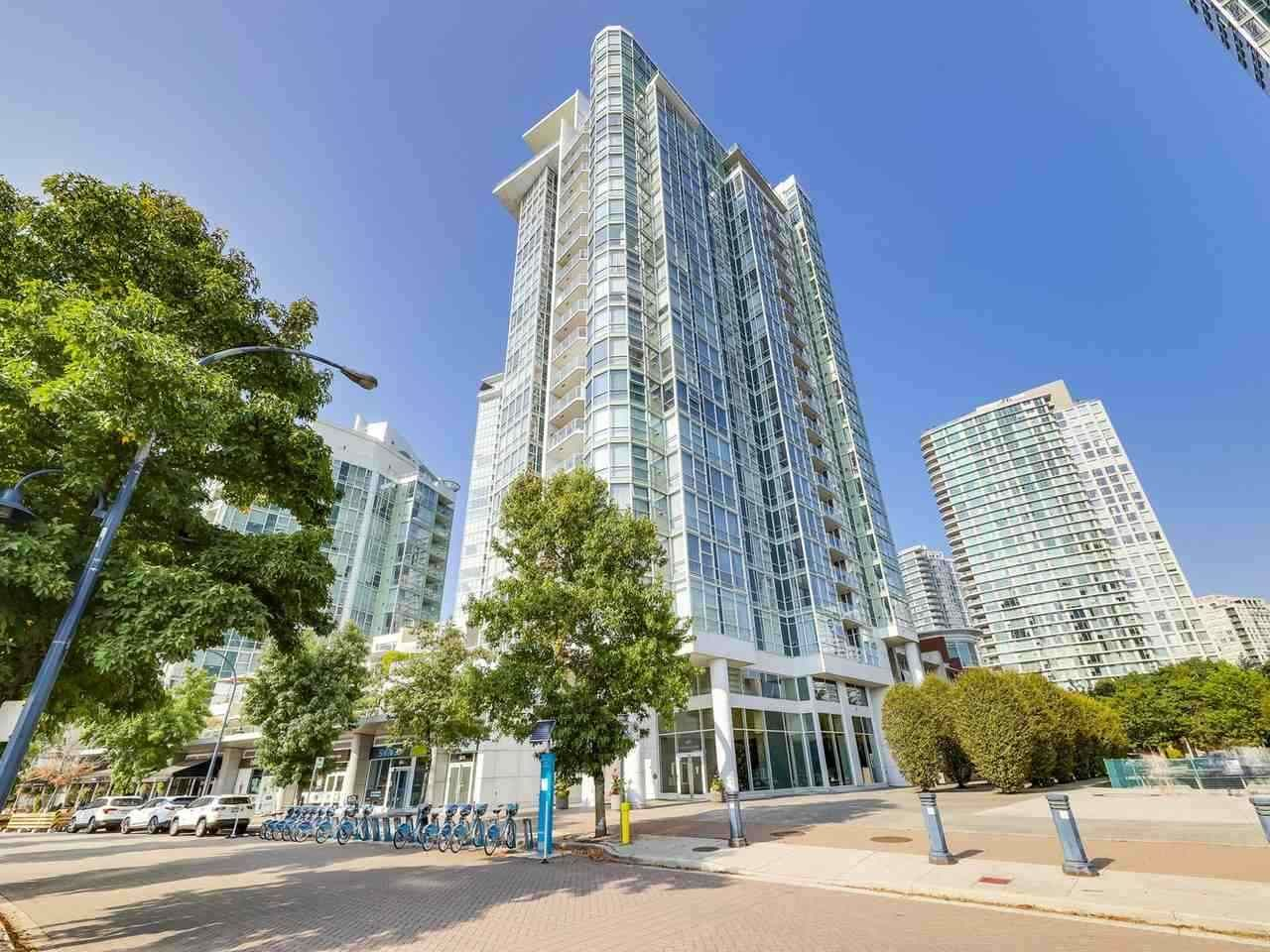 """Main Photo: 2305 1077 MARINASIDE Crescent in Vancouver: Yaletown Condo for sale in """"MARINASIDE RESORT"""" (Vancouver West)  : MLS®# R2544520"""