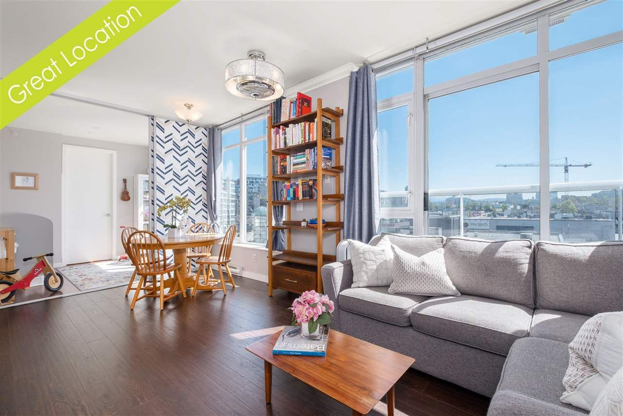 """Main Photo: 412 2055 YUKON Street in Vancouver: False Creek Condo for sale in """"Montreux"""" (Vancouver West)  : MLS®# R2588587"""
