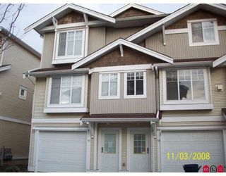 """Photo 1: 17 12110 75A Avenue in Surrey: West Newton Townhouse for sale in """"MANDALAY VILLAGE"""" : MLS®# F2807470"""
