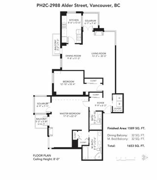"""Photo 26: PH2C 2988 ALDER Street in Vancouver: Fairview VW Condo for sale in """"Shaughnessy Gate"""" (Vancouver West)  : MLS®# R2542622"""