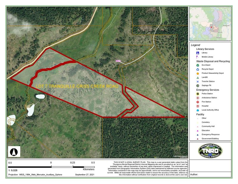 FEATURED LISTING: Lot 7 Tranquille Criss Creek Road Red Lake