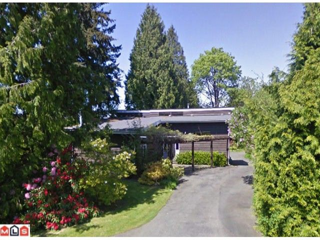 Main Photo: 12625 26A AV in Surrey: Crescent Bch Ocean Pk. House for sale (South Surrey White Rock)  : MLS®# F1114791
