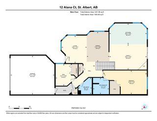 Photo 47: 12 Alana Court: St. Albert House Half Duplex for sale : MLS®# E4227590