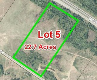 Photo 2: Lot 5 Blacktail Rd in : PQ Qualicum North House for sale (Parksville/Qualicum)  : MLS®# 870658