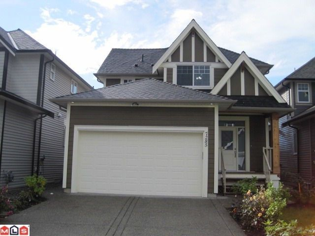 Main Photo: 7285 199TH ST in Langley: Willoughby Heights House for sale : MLS®# F1123791