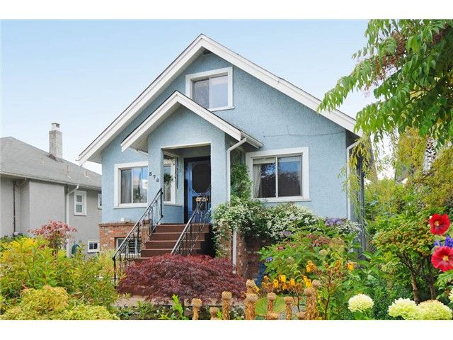 """Main Photo: 378 E 37TH Avenue in Vancouver: Main House for sale in """"MAIN"""" (Vancouver East)  : MLS®# V975789"""