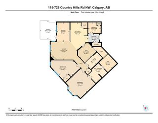 Photo 9: 115 728 Country Hills Road NW in Calgary: Country Hills Apartment for sale : MLS®# A1146138