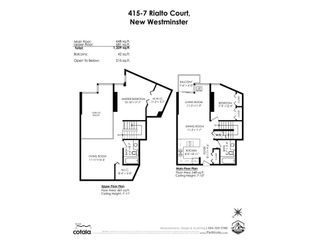 """Photo 20: 415 7 RIALTO Court in New Westminster: Quay Condo for sale in """"MURANO LOFTS"""" : MLS®# R2573007"""