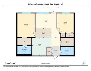 Photo 21: 2104 140 Sagewood Boulevard SW: Airdrie Apartment for sale : MLS®# A1147548