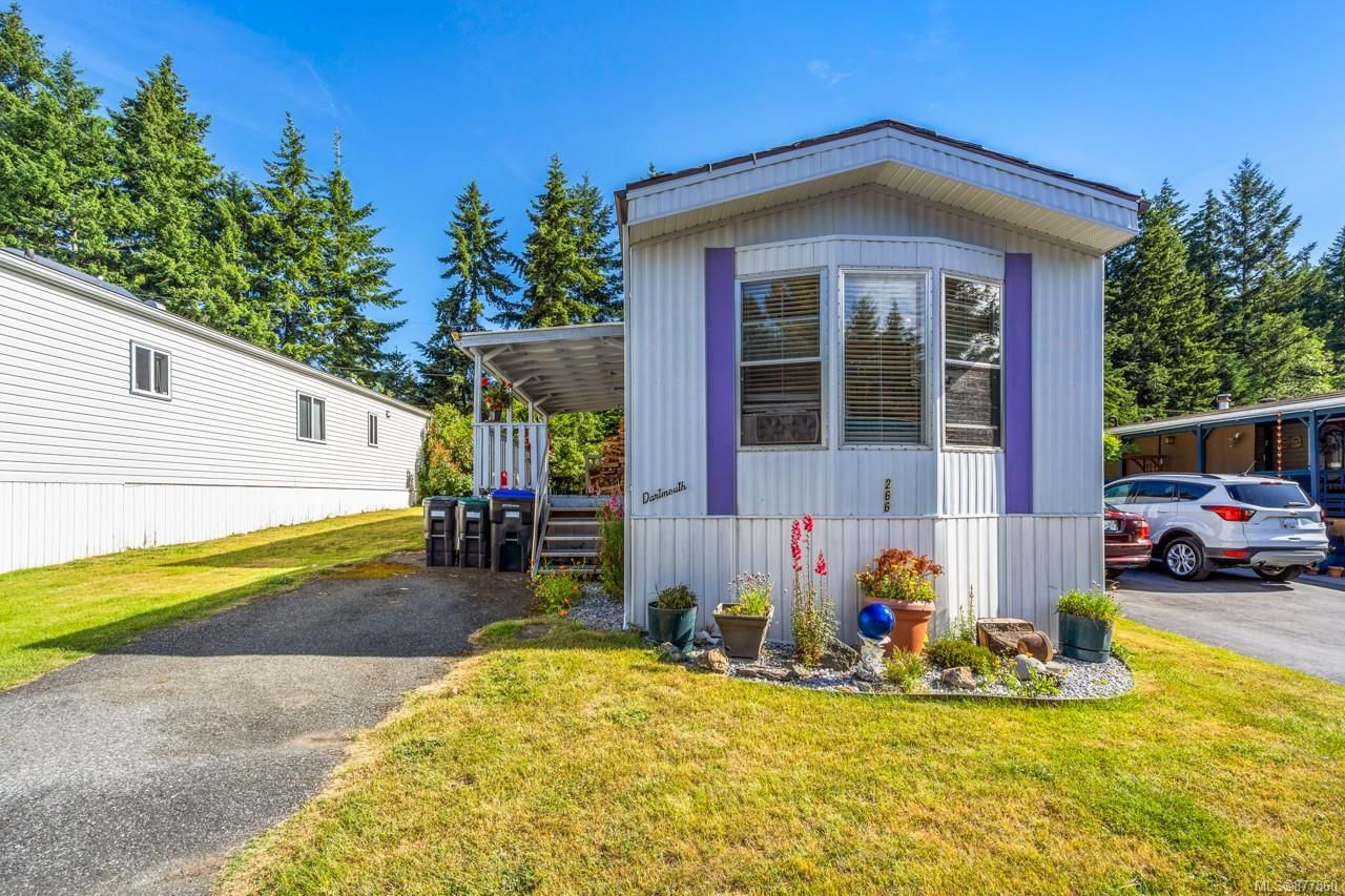 Main Photo: 266 2465 Apollo Dr in : PQ Nanoose Manufactured Home for sale (Parksville/Qualicum)  : MLS®# 877860
