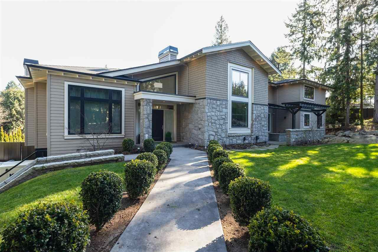 "Main Photo: 4558 WOODGREEN Court in West Vancouver: Cypress Park Estates House for sale in ""CYPRESS PARK ESTATES"" : MLS®# R2492343"