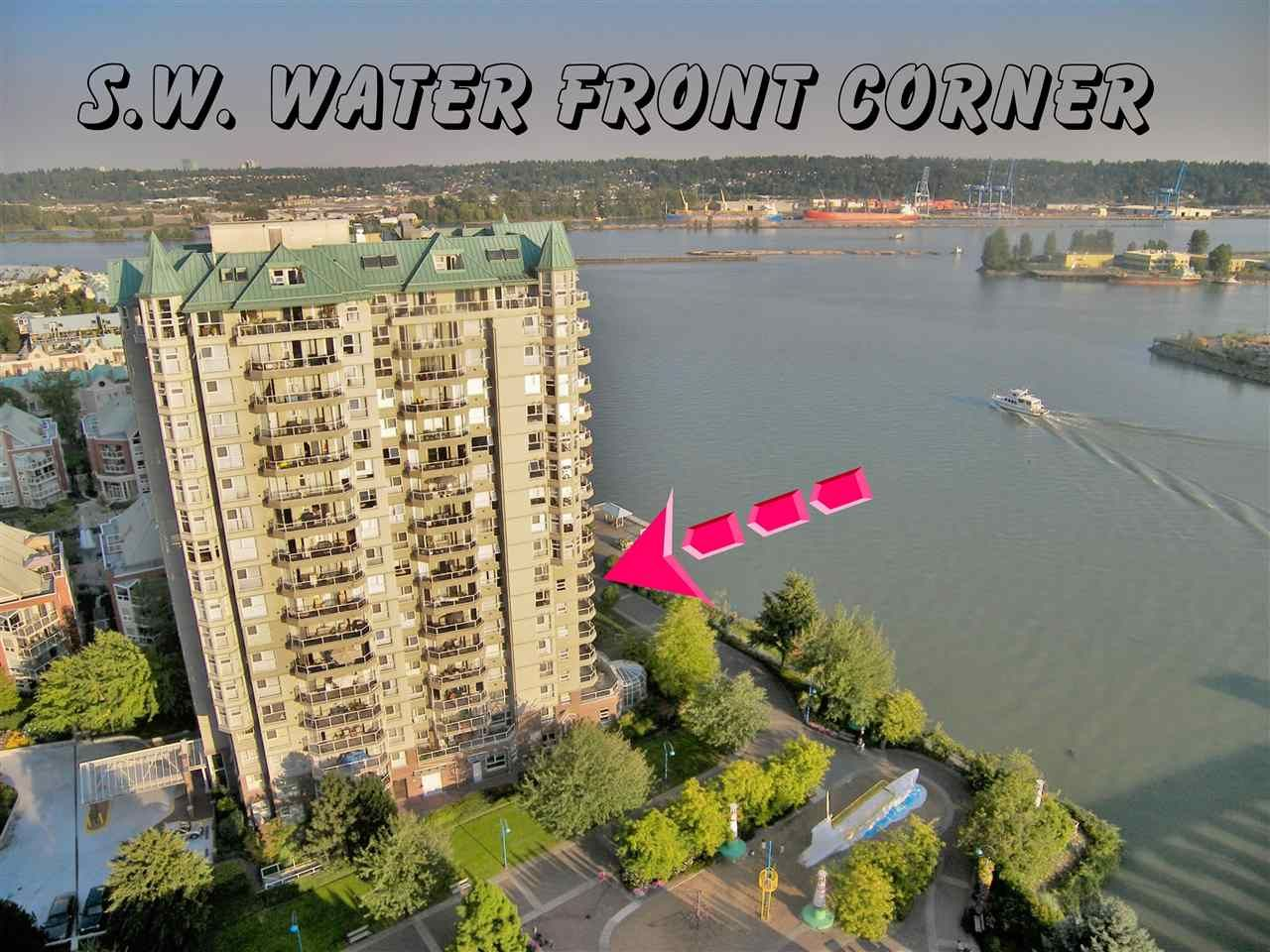 """Main Photo: 804 1250 QUAYSIDE Drive in New Westminster: Quay Condo for sale in """"PROMENADE"""" : MLS®# R2500975"""